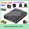 WiFi GPS Tracking G-Sensorの1080P 4 Channel 3G 4G SD Card Mdvr