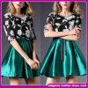 新しい到着2015の新式のFashinの衣服はショートさせる袖の膝の長さの女性のModenの服(B-0036)を