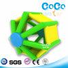 Rodillo heptagonal acuático inflable del diseño del agua de los Cocos (LG8064)