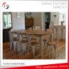 Siège en bois Châssis en métal Chaise en peinture moderne en acier (TP-41)