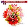 Favor de partido decoración del hogar Textil Pink Sun Flower (G1018B)