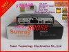 Rev Sunray D6 de la nueva versión del receptor 800HD delante del puerto del USB