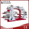 Máquina flexográfica de alta velocidad de la impresión en color cuatro
