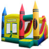 Bouncer combinado inflável Jumping Bouncy Castle com Slide