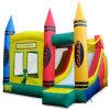 Combo gonfiabile Bouncer Jumping Castle rimbalzante con Slide