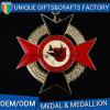Premi di abitudine con le medaglie dei nastri