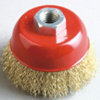 High Efficiency (Crimped 철사, 65mm~100mm 직경)를 가진 컵 Brush
