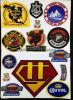 Acessório novo do vestuário de 2015 emblemas do bordado