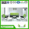 Sofa en cuir de salle d'attente de bureau d'unité centrale de qualité (OF-39)