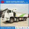 12 바퀴 쓰레기꾼 팁 주는 사람 트럭 50tons 덤프 트럭