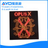 Quadrado de Hidly o sinal do diodo emissor de luz dos EUA Opusx