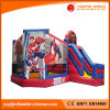 遊園地(T3210)のためにコンボスパイダーマンの主題の膨脹可能な跳躍の城