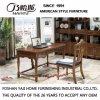 Mesa de escritório de madeira de estilo americano para móveis de escritório doméstico As809