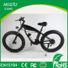 Bicicleta elétrica de gordura de montanha de 26 polegadas com motor sem engrenagens de 500W