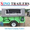 Reboques de acampamento resistentes da caixa
