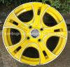 roda de alumínio 4X114.3 da liga do carro da borda da roda 13  14  15