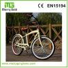 Chinesischer fröhlicher Geschwindigkeits-klassischer Strand-Kreuzer-elektrisches Fahrrad des Gold7