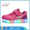 De In het groot Lichten van de nieuwe LEIDENE van de Aankomst Schoenen van de Tennisschoen op Loopschoenen