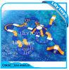 Sosta di galleggiamento gonfiabile dell'acqua di qualità calda del PVC 2017 per il mare