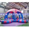 Aufblasbare Wasser-Pool-Zelte. Wasser-Park-Swimmingpool-Decke