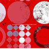 [100بولستر] هندسيّة [روس] [بيغمنت&ديسبرس] يطبع بناء لأنّ [بدّينغ] مجموعة