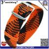 Планка вахты полосы вахт новой оптовой продажи логоса Wristband wristwatch планки Perlon полосы планки вахты типа Yxl-036 изготовленный на заказ самая дешевая