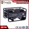 2kw 2.5kVA vier geöffnetes Regal-Benzin-elektrischer Generator Lf6000-B des Anfall-220V/110V