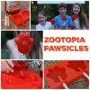 Выпечка/Popsiclestools прессформы силикона Zootopia Pawpsicles