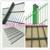 Cerca revestida do engranzamento de fio do PVC/cerca de fio dobro do ferro/cerco