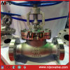 Carbonio Steel o Stainless Steel Flanged Globe Valve