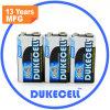 Batería seca alcalina 9V de la calidad estupenda