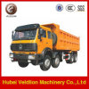 북쪽 Benz 8X4 60 Ton Mining Tipper Truck