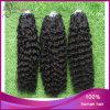 Выдвижение волос кольца петли бразильских волос курчавое микро-