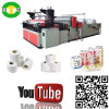 Equipamento da máquina da fatura de papel do banheiro do rolamento da produção elevada auto