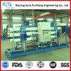 Sistema da dessanilização do processo da água do RO