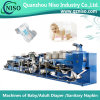 Chaîne de production spécialisée de couche-culotte de fréquence avec du CE (YNK400-FC)