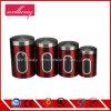 De Container van de Opslag van de Koffie van het roestvrij staal, de Gepatenteerde Luchtdichte Bus van de Koffie, de Uiteindelijke Opslag van de Bonen van de Koffie met Venster