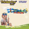 Los juguetes creativos del bloque hueco para los niños en la forma de barco