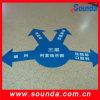 Autoadesivo decorativo del grafico del pavimento del vinile