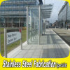 カスタマイズされた屋外のステンレス鋼のプレハブのバス待合所