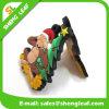 Magnete di gomma del frigorifero del PVC di natale della decorazione su ordinazione del regalo
