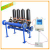 Limpeza automática Fiter do auto do filtro de água do remoinho do sistema de irrigação do gotejamento do filtro de areia do sistema da filtragem da água