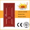 Porta de madeira do escritório elegante da isolação sadia (SC-W015)