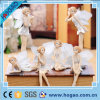 Украшение дома скульптуры симпатичного ребенка сада Fairy Fairy