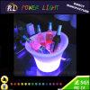 Support en plastique rechargeable de vin des meubles LED de barre de RVB