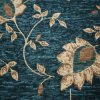 Jacquard Chenille Fabric per Sofa Upholstery Fabric