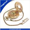 Psd-3123 het Uitstekende Horloge van het Geelbruin van het zakhorloge Voor Unisex-
