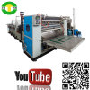 Máquina de corte de alta velocidade de toalha de cozinha do papel de impressão das cores