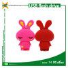 Impulsión del flash del USB de la historieta de la forma del conejo