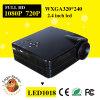 Mini appui portatif 1080P de projecteur d'exposition de données du théâtre à la maison LED de HD